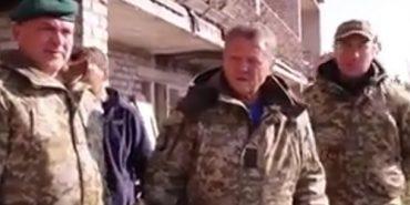 Мирон Маркевич потрапив під обстріл на Донбасі