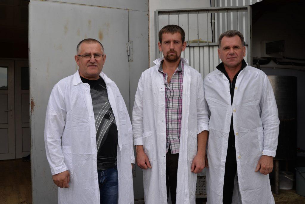 Петро Ключівський (на фото зліва)