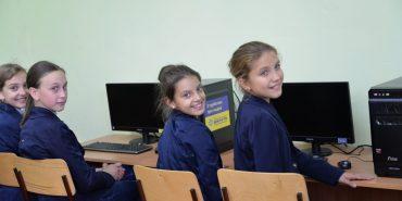 """Благодійний фонд """"Покуття"""" відкрив комп'ютерні класи ще у трьох школах на Коломийщині. ФОТО"""