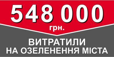 Понад півмільйона гривень у Коломиї за 8 місяців витратили на озеленення. ІНФОГРАФІКА