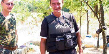 Журналіст Євген Гапич склав повноваження голови Координаційного центру допомоги учасникам АТО при міському голові