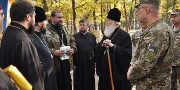 Патріарх Філарет несподівано відвідав зону АТО. ФОТО