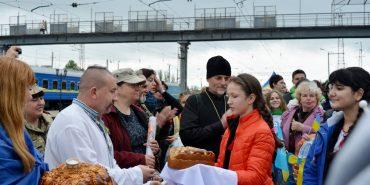 """До Коломиї прибуде """"потяг єднання"""" зі 170 художниками і волонтерами зі Сходу"""