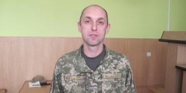 Новим військовим комісаром Коломиї став 43-річний учасник АТО Юрій Кападзе