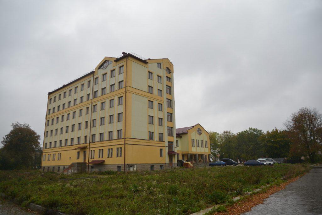 Нова поліклініка. Фото: Олександра ЩЕРБАКОВА-ОЛІЙНИК