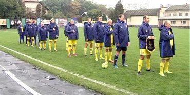 Зіркові футболісти зіграли матч у Коломиї. ВІДЕО
