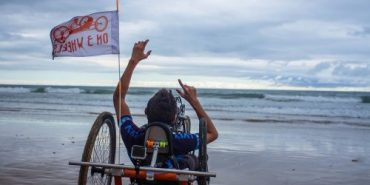 20-річний юнак із ДЦП доїхав велосипедом зі Львова до Лісабона