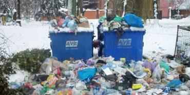 """У Снятині жаліються на роботу """"АВЕ Коломия"""", яка не вивозить вчасно сміття"""