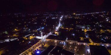 Неймовірні фото нічної Коломиї