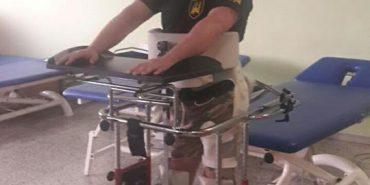 Боєць АТО з Прикарпаття за допомогою лікарів Іспанії став на ноги. ФОТО+ВІДЕО