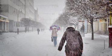 Прикарпатців попереджають про снігопад та хуртовини