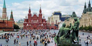 Українець виконав гімн у Москві на Красній площі. ВІДЕО