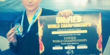 """Юний прикарпатець виборов """"бронзу"""" на Чемпіонаті світу з кікбоксингу"""