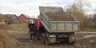 На Коломийщині арештовано транспорт, яким видобували гравій
