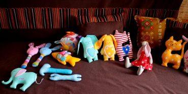 Студентка з Франківщини шиє неповторні м'які іграшки. ФОТО