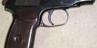 Пістолет Макарова, який поліцейські вилучили у жінки на Косівщині, завезений із зони АТО