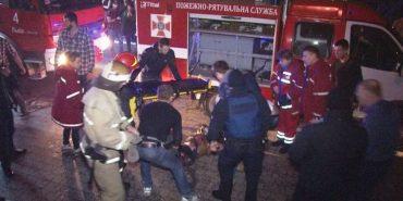 У нічному клубі Львова сталася пожежа, постраждало 22 осіб. ФОТО+ВІДЕО