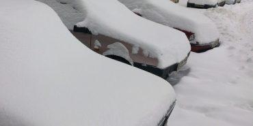 За минулу добу рятувальники Франківщини звільнили від снігу майже 90 автомобілів