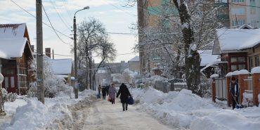 Як сніг на голову: комунальні служби Коломиї не були готові до сильних снігопадів. ФОТОРЕПОРТАЖ