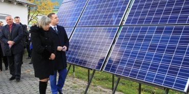 У Спасі відкрили сонячну міні-електростанцію, вартість проекту — 402 тисячі гривень. ФОТО