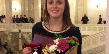Студентці з Франківщини вручили премію Кабінету Міністрів України. ФОТО