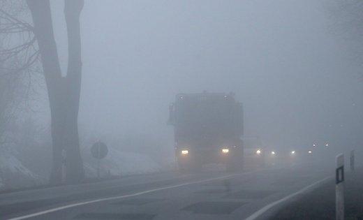 Жовтий рівень небезпеки: сьогодні та завтра на Прикарпатті очікується густий туман
