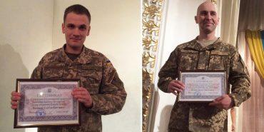 У Коломиї до Дня ЗСУ міський голова вручив двом військовим сертифікати на двокімнатні квартири. ФОТО