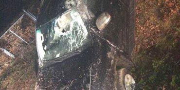 ДТП у Шепарівцях: через перевищення швидкості джип виїхав на кільце. ФОТО