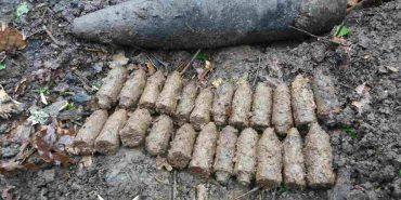 У селі на Коломийщині виявлено цілий арсенал часів ІІ Світової війни