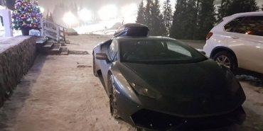 Британець, який приїхав у Карпати на Lamborghini розповів, як треба їздити нашими дорогами