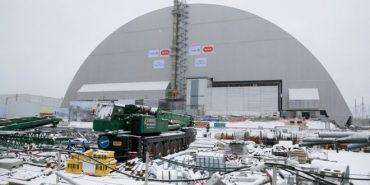 Чорнобильський реактор накрили саркофагом