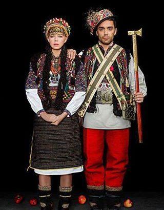Onuka і The Maneken одягли гуцульські весільні костюми. ФОТО - Дзеркало  Коломиї bec1359a21272