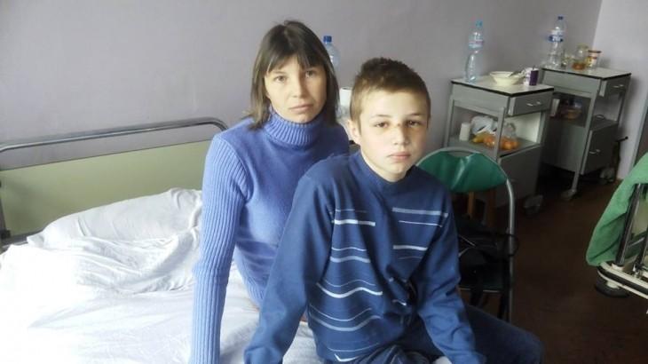 Світлана та Ігор Гавриші в ОДКЛ на п'ятий день після інциденту