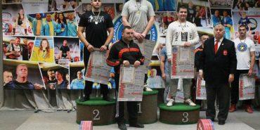 Олександр Лесько з Коломиї став призером чемпіонату України з пауерліфтингу. ФОТО