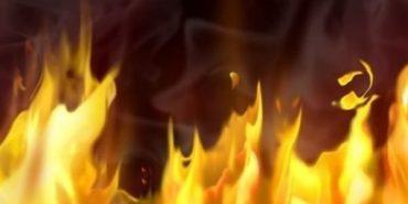 На Прикарпатті 80-річна жінка намагалася себе спалити