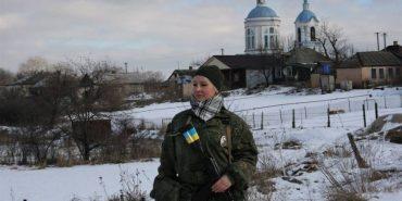 Прикарпатка захищає Україну в АТО на рівні з чоловіками. ФОТО