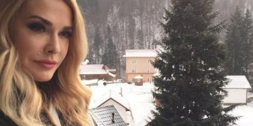 Ольга Сумська відпочивала на свята на Франківщині
