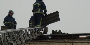 На Прикарпатті вітер повалив дерева та зірвав дахи