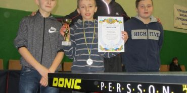 Юний коломиянин здобув срібло на турнірі найсильніших з настільного тенісу