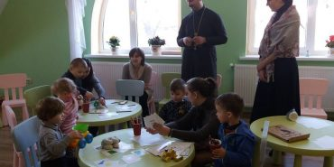 До новоствореного християнського садочка на Театральній завітали перші вихованці. ФОТО