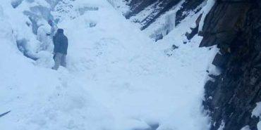 У Карпатах замерз водоспад. ФОТО