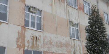 """В одній зі шкіл на Прикарпатті стався """"потоп"""". ФОТО"""