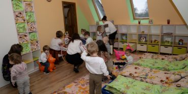 При Катедральному соборі відкрили перший християнський дитсадок Коломийсько-Чернівецької єпархії. ФОТО