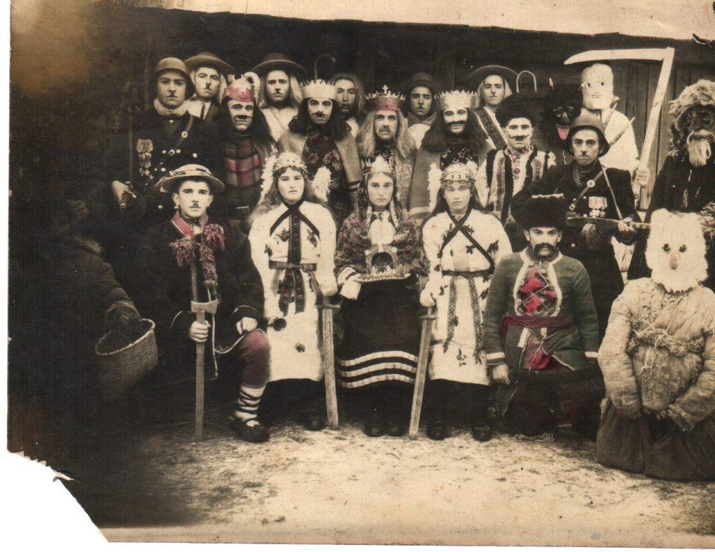 Вертеп у Марківці на Коломийщині, 1947 р.