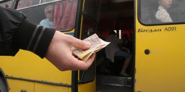 На Франківщині протестують проти підняття вартості проїзду у транспорті