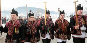 Розколяда завершує цикл Різдвяних свят на Прикарпатті. ФОТО
