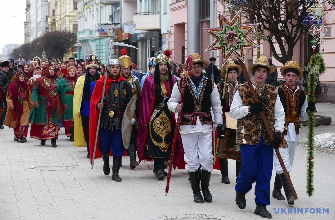 Розколяда завершує цикл Різдвяних свят на Прикарпатті. ФОТО Івано-Франківськ