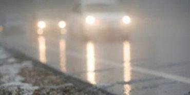 Прикарпатців попереджають про туман і ожеледицю на дорозі