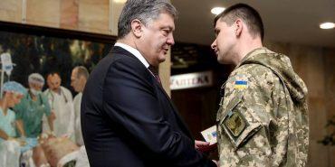 Президент нагородив медаллю медика в АТО зі Снятинщини