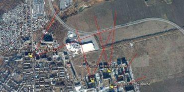 Експерти Bellingcat встановили місця стрільби з Градів по Авдіївці